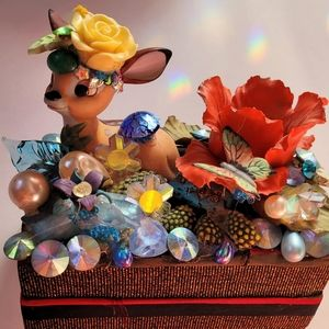 Wendy Gell Disney Bambi Jewelry Box Bejeweled.